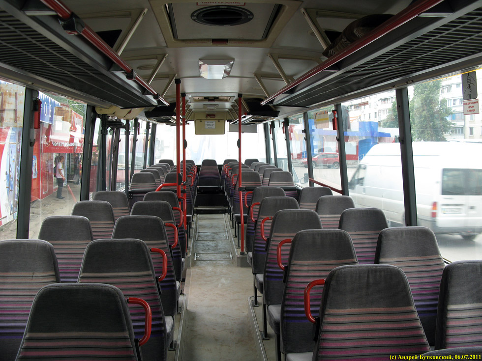 Салон автобуса Setra S215UL
