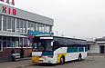 Sunsundegui Interstylo (Volvo B10B) гос.# АХ1007АА маршрута Харьков — Богодухов на автостанции в Богодухове