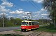 "Tatra-T3SU #3068 12-го маршрута на Белгородском шоссе в районе остановки  ""Сокольники "".  IMG."
