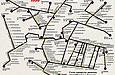 Схема троллейбусных маршрутов Харькова.