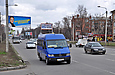 Mercedes-Benz Sprinter 312D гос.# AX2303BA маршрута Харьков - Краснокутск на улице Полтавский Шлях в районе улицы Лейтенанта Шмидта